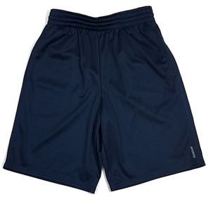 Reebok Blue Mesh Shorts With Pockets